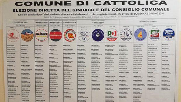 Elezioni comunali 2016 Cattolica