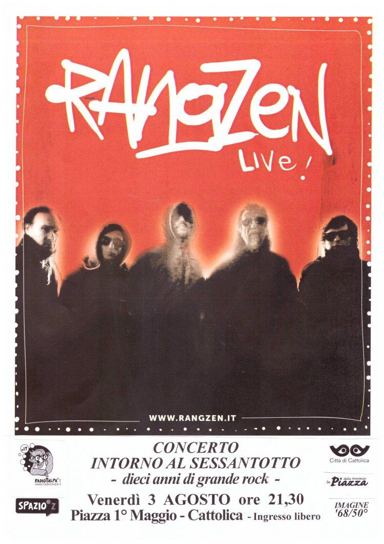 locandina concerto Rangzen