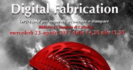 Open Day 3d Digital Fabrication
